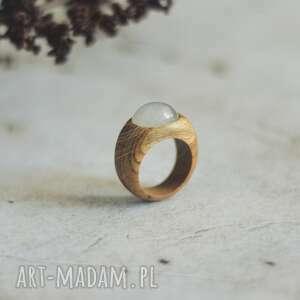 pierścionek z kamieniem księżycowym, pierścionek