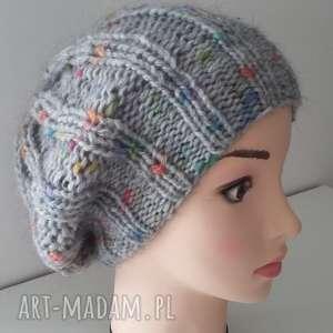 oryginalna czapka zimowa, czapka, czapa, kobieta, zima, dodatki, druty czapki
