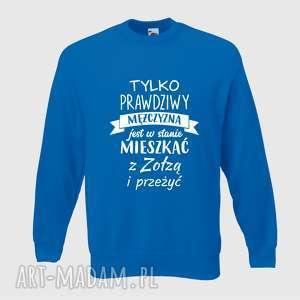 bluza z nadrukiem dla chłopaka, faceta, narzeczonego, męża, prezent, walentynki
