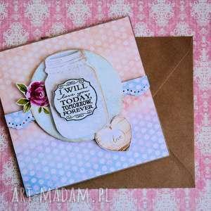 hand-made kartki kartka - i will love you today