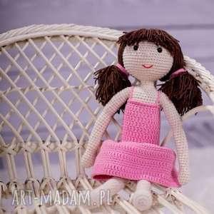 Timosimo - lalka na szydełku tosia pokoik dziecka