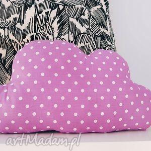wrzosowa poduszka dekoracyjna chmurka, chmura, poduszka, podusia
