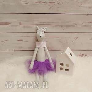Myszka Tilda przytulanka, bawełna, tiulowa, antyalergiczna