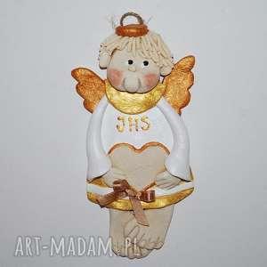 magosza pamiątka romka - aniołek, anioły, dekoracja, prezent, dedykacja, komunia