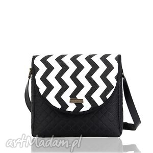 ręcznie robione torebki torebka puro 265 black&white