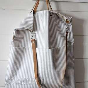 Torba w paski, torba, letnia, plażowa, torebka, damska, paski