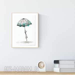 grafika a4 malowana ręcznie, minimalizm, abstrakcja, obraz ręcznie malowany