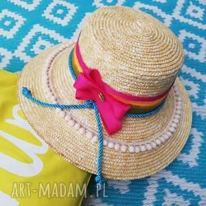 kapelusz letni, słoma