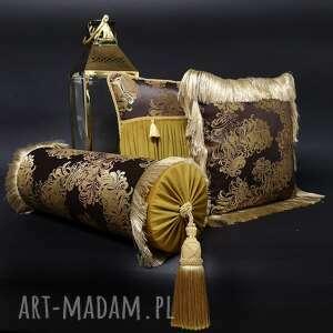 poduszki dekoracyjne komplet 3 poduszek rococo od majunto