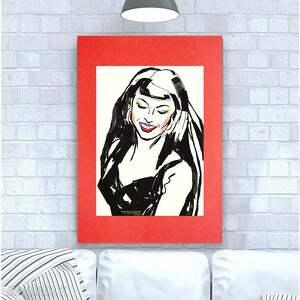 Grafika pop art, plakat minimalizm plakat, nowoczesny