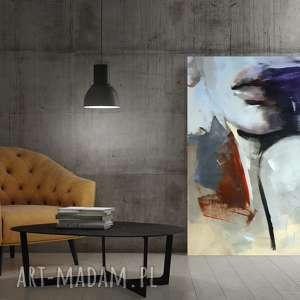 Dom galeria alina louka duży obraz do salonu, twarz obraz