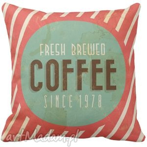 poduszki poduszka dekoracyjna kawa fresh coffee 6544, kawa, coffe, poduszka, retro