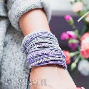 WHW Big Mess - Violet Wind, sznurkowa, sznureczkowa, jesienna, kolorowa, zwijana