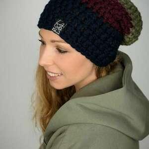 świąteczny prezent, czapki czapka tricolour 06, czapa, snowboard, na zimę