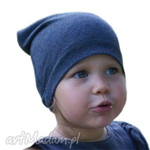 Czapka granatowa little sophie czapka, dresówka, dziecko