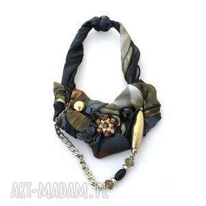 MAGIC! naszyjnik handmade, naszyjnik, kolia, wisior, kolorowy, srebrny, łańcuchy