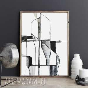 dom świata widzenie nr 26, dom, obraz, sztuka, malarstwo, minimalizm, art