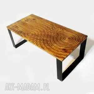 stolik kawowy, stół ława kawowa, nowoczesny, loftowy, z litego drewna