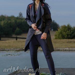 ręcznie robione płaszcze narzutka trencz furisode koniro