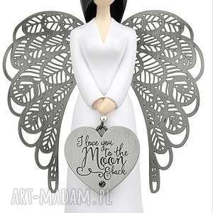 anioł miłości 15,5 cm you are an angel, komunia, chrzest, figurki, kimmidoll, anioły