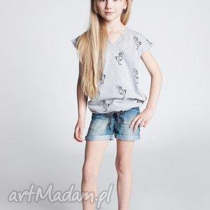 Bluzka DB14M, koszulka, dziewczęca, modna, stylowa