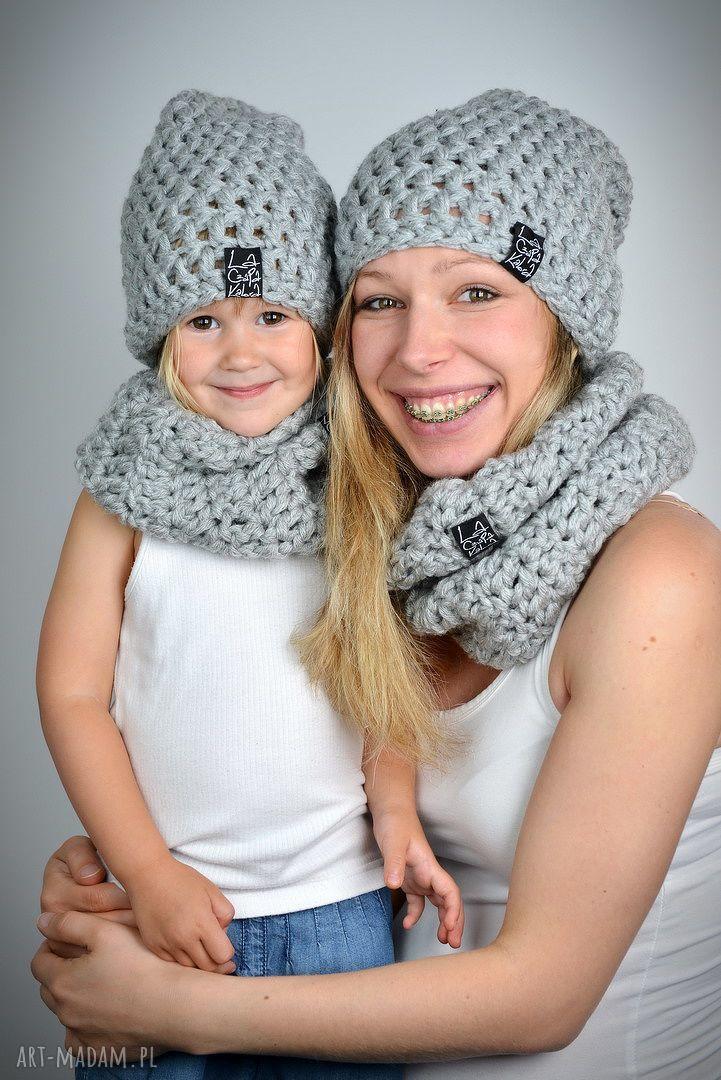 wełna dla dziecka czapka monio 04