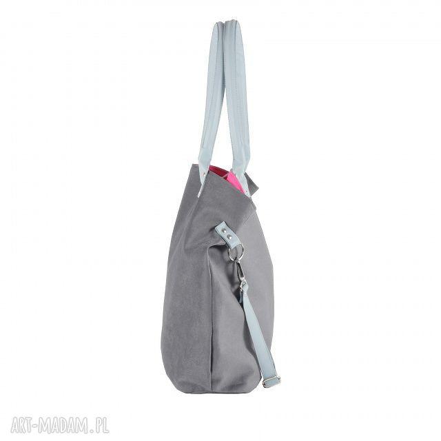oryginalne na ramię torba mana mysza light blue