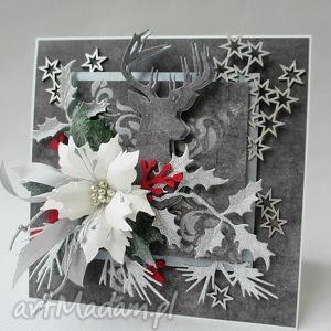 Pomysł na prezenty świąteczne: Srebrne święta scrapbooking kartki