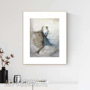 obraz ręcznie malowany 30 x 40 cm, nowoczesna abstrakcja, 2610389, obrazy