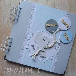 Prezent Album - trochę jak słoń:), chrzest, urodziny, narodziny, sesja, balony,