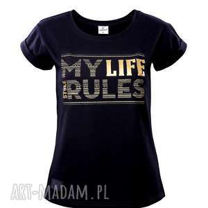 T-SHIRT MY LIFE R. L, live, t-shirt, modna