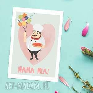 Kartka okolicznościowa, mama mia kartki cardie kartka