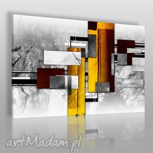 obrazy obraz na płótnie - abstrakcja elegancki 120x80 cm 37901, elegancki, wystawny
