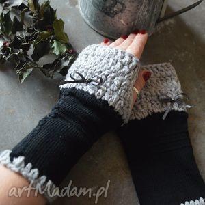 mitenki - rękawiczki, mitenki, rękodzieło, ocieplacze