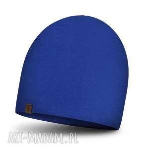 czapka dla dorosłych jesienna podwójna unisex, damska, męska