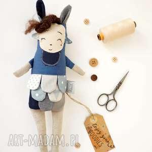 Prezent Lalka handmade z tkaniny - Natka Monsterówna, dla-dziewczynki