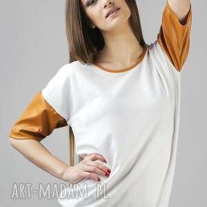 tessita bluzka inga 3, dresówka, wygodna, elegancka, skóra, ekologiczna, dres