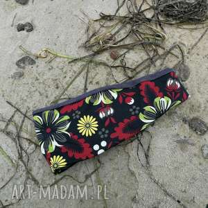 Opaska damska etno boho kwiaty sportowa joga handmade opaski
