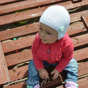 czapka Girl Hedgehog, czapka, czapeczka, antyalergiczna, dziecko, niemowlę, włóczka