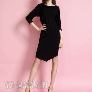 Tunika czarna z rękawem 3 4 rozmiar s sukienki ewa bednarska