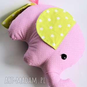 Słonik Tutek - Asia, słonik, dziewczynka, maskotka, przytulanka, chrzciny, roczek