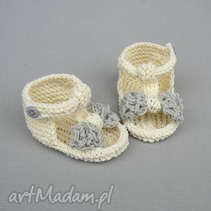 buciki sandałki malaga, buciki, sandałki, noworodek, niemowlę, dziecko, chrzest dla