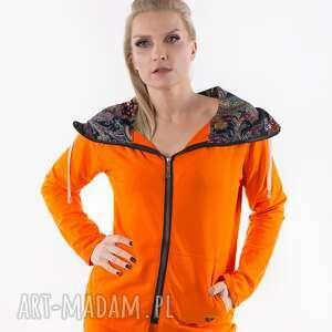 bluzy bluza orange summer-me, bluza, dres, t shirt, sukienka, spódnica, płaszcz