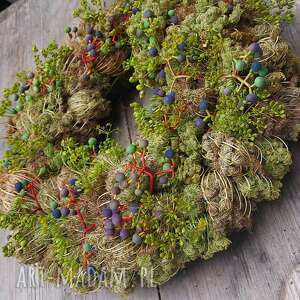 Wianek na drzwi lub stół dekoracje cynamonn natura, rustykalny