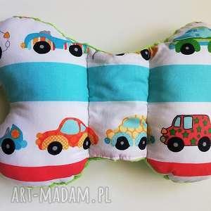 dla dziecka poduszka podróżna autka 2 / zielony, poduszka, motylek, wózek
