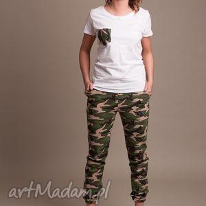 hand-made spodnie moro damskie
