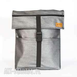 stalowy, plecak, worek, wodoodporny, wako