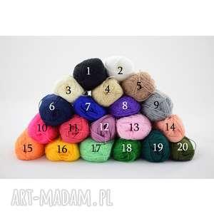 letnia czapeczka - kolory do wyboru (czapka ażurowa, prezent)