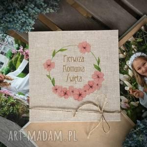 Prezent Album harmonijka Pamiątka Komunii Świętej, pamiątka-komunia