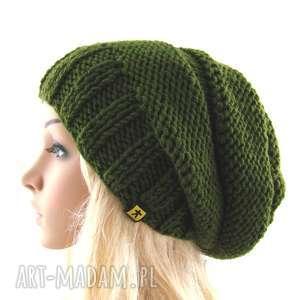 hand-made czapki czapa khaki